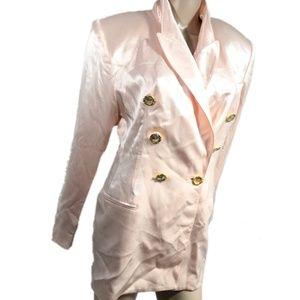 Vintage Criscione Pink Blazer Jacket size Medium